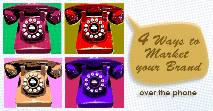 Marketing through on-hold marketing messages