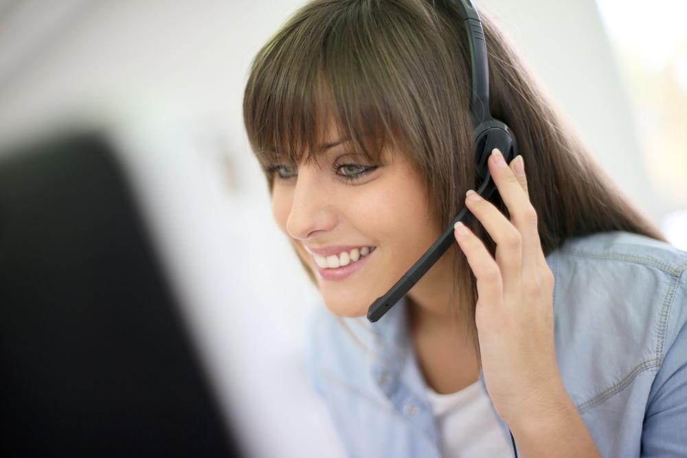 Customer service representative on the phone.jpeg